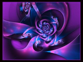 Pink And Purple by Brigitte-Fredensborg