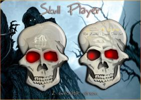 Skull Player by SKoriginals