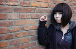 Beijing Gothic Girl by SniperOfSiberia