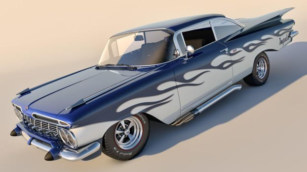 1959 Chevrolet Impala Coupe by SamCurry