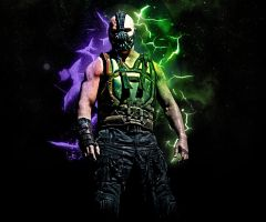 HD Android Wallpaper - Bane by Razelim
