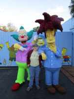 Me, Krusty and Sideshow Bob by ShadowGirl7