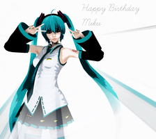 Happy Birthday Miku! by Yozane