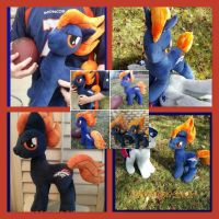 mlp plush commission SUPERBOWL special OPEN by CINNAMON-STITCH