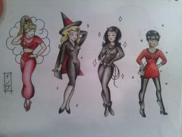 sailor jerry style ladies by morgoththeone