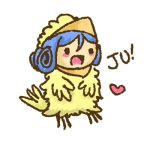 Excited Little Juvia Chickie by Kasugaxoxo