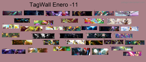 Wall enero by judagui