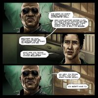 The Matrix Sample Comic Panels - Full by Ben-Wilsonham