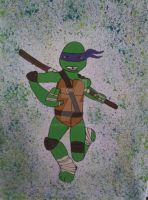 TMNT Donatello  by AshWolf101