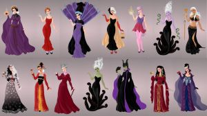Mistresses of Evil by autumnrose83