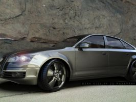 AUDI A6 LAST RENDER by palax