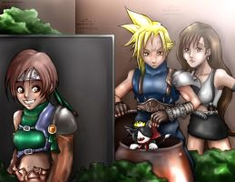 FF7 : In search of Yuffie 2 by Angy89