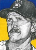 Robin Yount by JRosales1