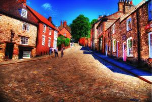 Steep Hill, Lincoln... by TheBaldingOne