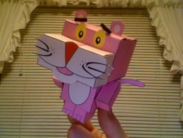 Pink Panther Cubee by iamtherealbender