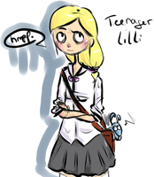 Teenage Lilli by JollyGoodDay