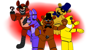 Five Nights At Freddy's by SparksHumbleAbode