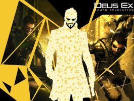 Deus Ex Human Revolution Wp by Krysalid