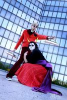 Dave + Kanaya Cosplay: Time by Abessinier