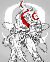 GOW - Kratos by offrecord