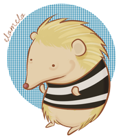 John Watson: The Hedgehog by elothemelo