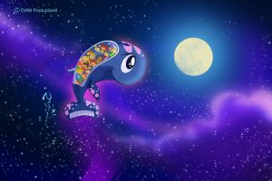 Fly me to the moon Bubba by Nippy13