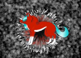 WOLF EXPLOSION by WolvesDestinyBlood