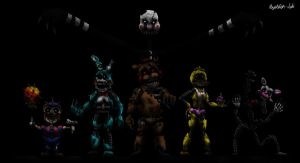 The Nightmare Toy Animatronics by Playstation-Jedi