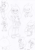 New Sonic Fc Doodles by UnknownSpy