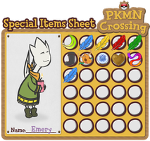 Emery's Special Item Sheet by Bloomins