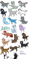 Mixed adopts by Icey-adopts
