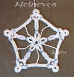 Knotted snowflake by Kleinevos70