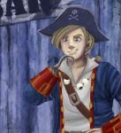 Captain Threepwood (the mighty one) by clarisu