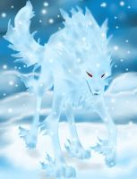 FrostWolf by Shiranui-CandyGod