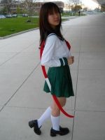 Going on a journey - Kagome by TokalaAngel
