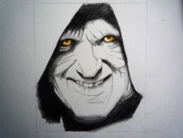 Emperor Palpatine by Red5Chu