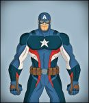 Captain America by DraganD
