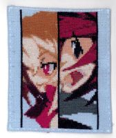 Cross-Stitch Adell+Rosalind by LunarBlade