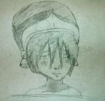 Toph Blushing by Caxsry14