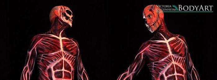 Skinned Alive! Bodypainting by VictoriaGugenheim