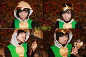 WIP: Journey Into Mystery Loki by SugarBunnyCosplay