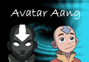 Two Sides of Aang by I-wuv-Bolin