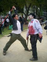 Take this, zombie by carloshorment