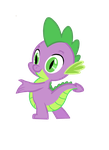 Spike The Dragon by Fluttershy1982