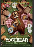 Yogi Bear Movie Poster by slappy427