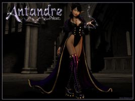 Antandre, WoW PRIEST by macarthurfamily