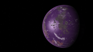 Purple Planet by foreverCTY