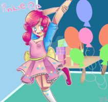 Mlp: FiM - Pinkie Pie Anime by calabogie2007