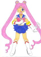 Prototype Sailor Moon by animequeen20012003