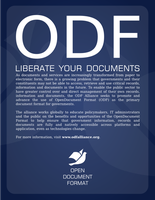 Modified Red Hat ODF Poster by vertis